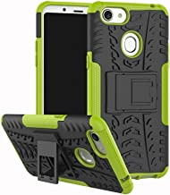 Shockproof Compatible with OPPO F5 Case, Personality Creativity Hyun Pattern Dual Layer Hybrid Armor Kickstand 2 In 1 Shockproof Case Cover Compatible with OPPO F5 / OPPO F5 Youth (Color : Green)