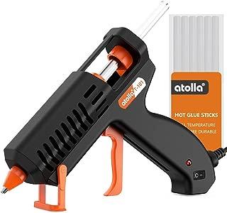 Hot Glue Gun atolla 35W Mini Hot Melt Glue Gun Kit with 10 pcs Glue Sticks, High Temperature and Quick Heating for DIY - Crafts - Arts & Home Quick Repairs