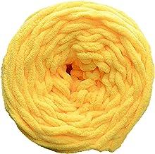 DIY haakdraad, warm en zacht lichtgewicht polyester katoen breien wol fancy garen, handweven naaigaren groep voor dekens, ...