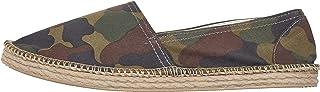 Urban Classics Men's Canvas Slipper Espadrille Wedge Sandal