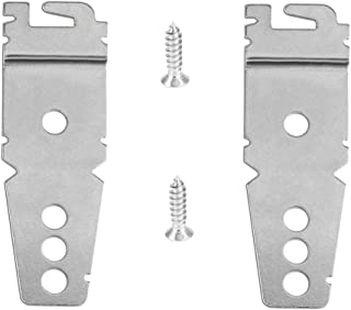 2-Pack Undercounter Dishwasher Mounting Bracket Replacement with Screws 8269145 for Whirlpool, Compatible for Whirlpool Kenmore, Amana, Jenn-Air, Crosley, Maytag, Roper, Kitchenaid Replaces 8212560 WP