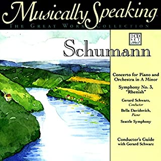Conductor's Guide to Schumann's Concerto for Piano and Orchestra in A Minor & Symphony No. 3 audiobook cover art