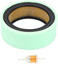 Harbot M47494 Air Filter with AM116304 Fuel Filter for John Deree 200 210 212 214 216 F620 F680 F687 M653 Sabre 1948GV 1948HV 2148HV 2354HV Scotts S2048 S2348 300 316 312 314 400 Lawn Tractor
