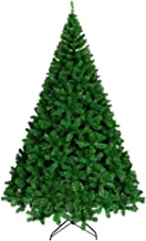 Ariv Green Christmas Tree 6Ft 1.8M Bushy 1200 PVC Tips Sturdy Metal Christmas Tree Stand Frame Base for Family Store Party...