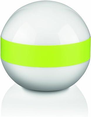 Philips 431893216Cole Glass Table Lamp–1x 25W, Green, E27 15 wattsW 230 V