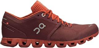 On Running Mens Cloud X Textile Synthetic Trainers