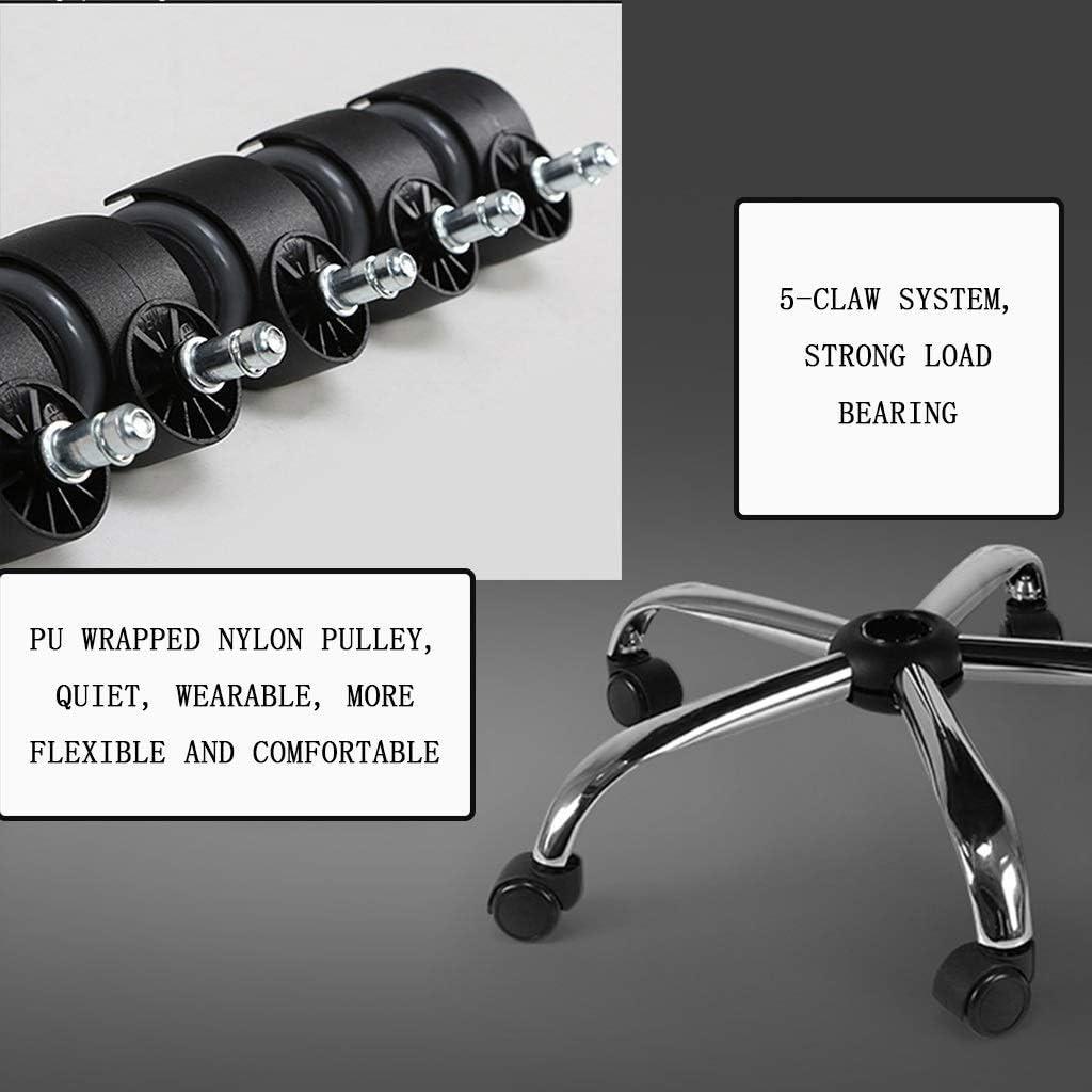 genneric Fauteuil de Bureau Ergonomique, Chaise de Bureau d'ordinateur, appuie-tête réglable, Dossier et accoudoirs, Appui-Dos, Mesh (47.6X23.6X18.5 in) (Color : Noir) Noir