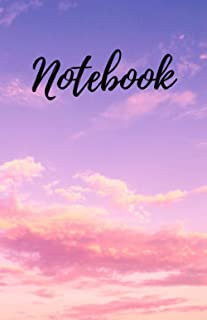 Notebook: 5.5'x8.5' 120 pages cloud scenery