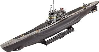 Revell- Maqueta Submarino alemán Type VII C/41, Kit Modello Escala 1:350 (5154) (05154), 19,2 cm de Largo (