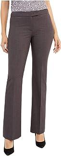 ANNE KLEIN Womens Gray Straight leg Pants AU Size:18