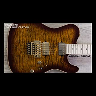 A Dorian Groove Guitar Backing Track