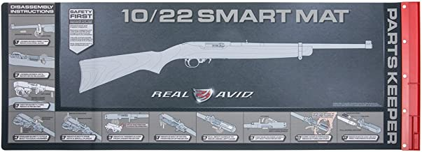 """Real Avid 10 22 Smart Mat - 43x16"""", Ruger 10 22 Gun Cleaning Mat / Rifle Cleaning Mat with 10 22 Graphics"""