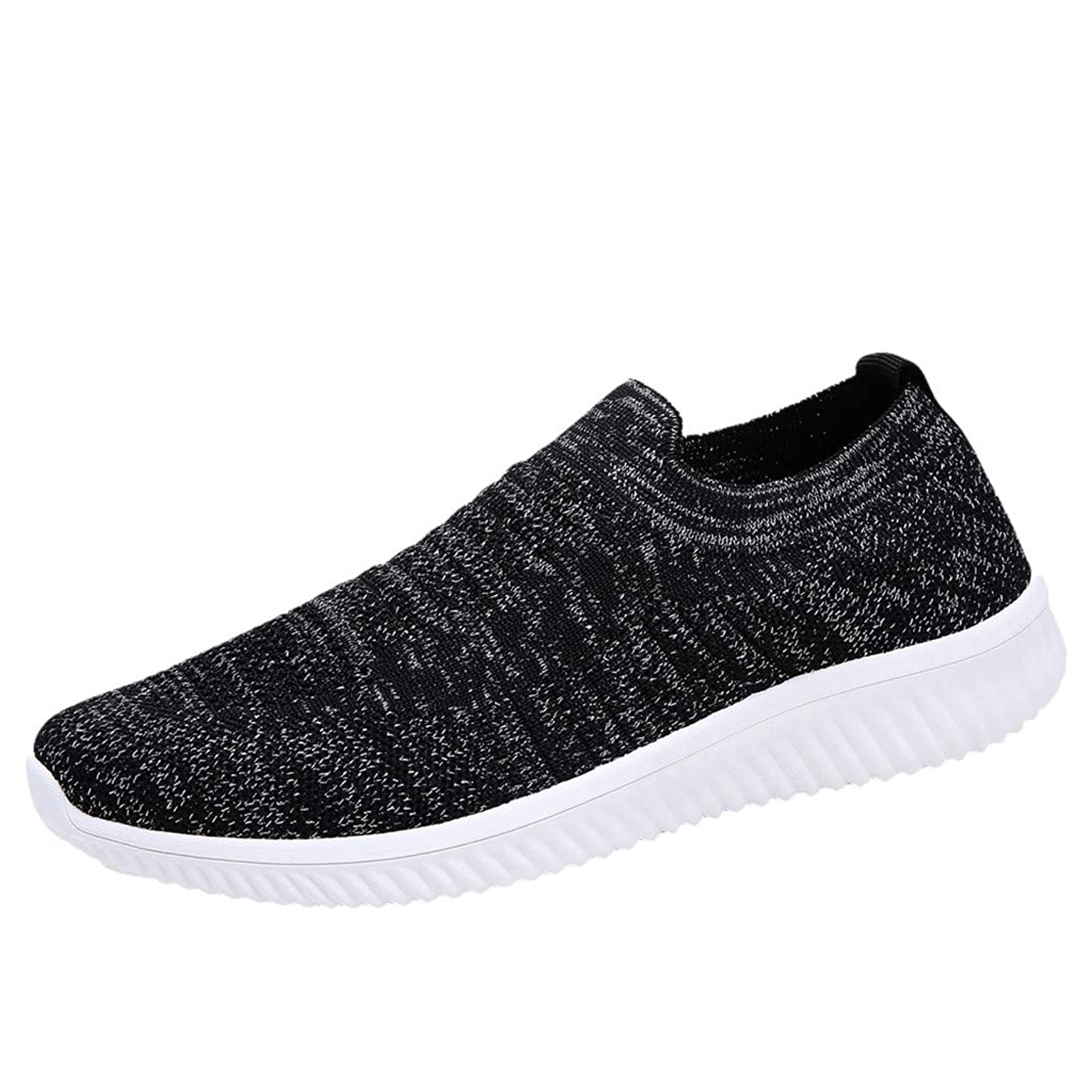 Toimothcn Women's Mesh Sneakers Slip On Cozy Breathable Athletic Running Walking Shoes