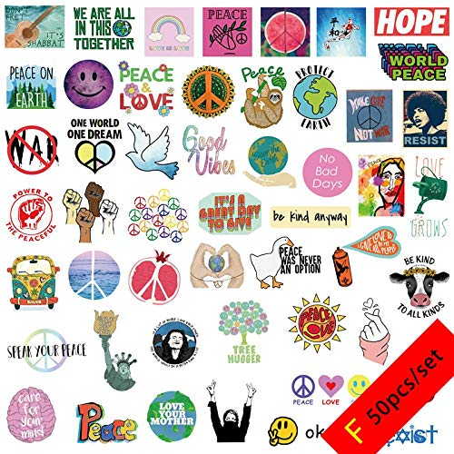 Wall Art Stickers Creative Stickers Trolley Case Skateboard Decor Stickers Laptop Diy Decals Removable Waterproof Vinyl Helmet Stickers F