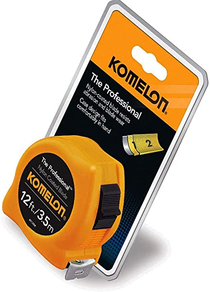 Professional 12 Foot Scale Power Tape Yellow New Version