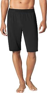 Tommy John Men's Second Skin Pajama Shorts - Comfortable Soft Sleep & Lounge Bottoms for Men