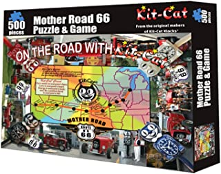 Mother Road 66 Kit-Cat Klock Puzzle and Game