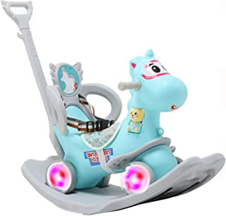 Upgrade 3 in 1 Sit To Stand Walker, Interactive Child Walker with Intelligent Early Education,Light And Music, Ride on Car...