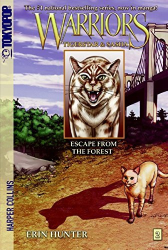 Warriors Manga: Tigerstar and Sasha #2: Escape from the Forest (English Edition)