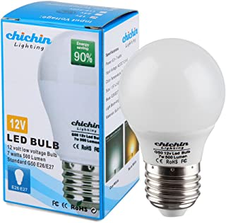 ChiChinLighting 12volt LED Bulb E26 E27 Standard Base 12vac 12vdc Off Grid Cabin RV Camper Trailer Solar Systems Warm White 2700k