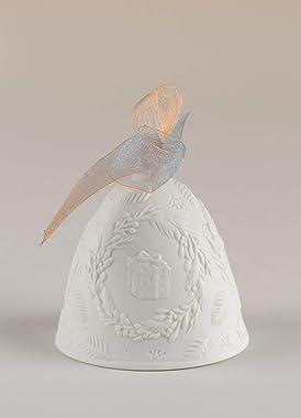 Lladro 2021 Porcelain Christmas Bell Blue #18462
