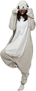 SHDIBA Unisex-Adult Plush Animal Onesies Pajamas Kigurumi Sleepwear Seals Chrismas