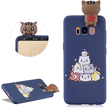 Coque Samsung Galaxy S8 Plus3D Silicone TPU Gel Homme Panda Coque Bumper Housse Etui pour Galaxy S8 Plus