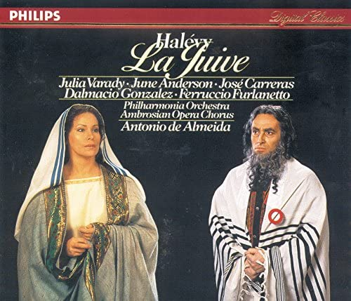 Antonio de Almeida, Julia Varady, José Carreras, June Anderson & Philharmonia Orchestra