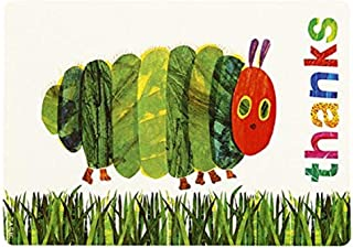 Talking Tables 17 x 15.5 x 2 cm the Very Hungry Caterpillar Party Thank You Cards, Pack of 12, Multi-Colour