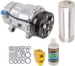 AC Compressor w/A/C Repair Kit For Volkswagen VW Jetta Golf Mk4 New Beetle Audi TT - BuyAutoParts 60-80107RK New
