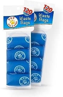 Pet All-Star Waste Bags 120-Count Dogs Poop Disposal Bag Leak Proof