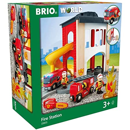 BRIO World GRAND CIRCUIT POMPIER 33817