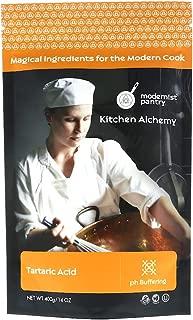 Pure Tartaric Acid ⊘ Non-GMO ❤ Gluten-Free ☮ Vegan ✡ OU Kosher Certified - 400g/14oz