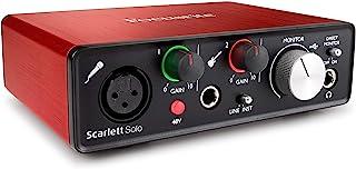 Focusrite Scarlett Solo (نسل دوم) رابط USB صوتی با ابزار Pro | اولین