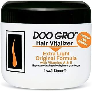 DOO GRO Medicated Hair Vitalizer Extra Light Original Formula, 4 oz (Pack of 3)