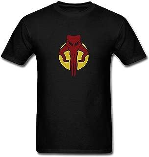 Men's Boba Fett Star Wars Logo T-Shirt S ColorName Short Sleeve