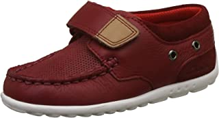 Clarks Boy's Balmy Drum Inf Red Sneakers