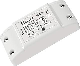 SONOFF Basic R2 10A Smart WiFi Wireless Light Switch, Universal DIY Module para Smart Home, Funciona com Alexa