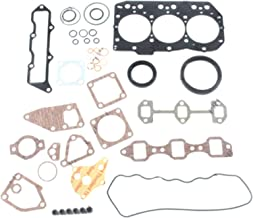 3TNV82 3TNV82A Engine Gasket Kit - SINOCMP Excavator Parts for Yanmar VIO35 Mini Excavator, 3 Month Warranty