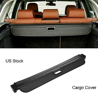 MotorFansClub for BMW X5 E70 F15 2007-2018 Retractable Rear Trunk Cargo Cover Shade Shield (US Shipment)