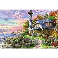 フィットネスバイク 300,500,1000,1500ピース、有名な手描きの油絵の風景パズル、木製のジグソーパズルの知的ゲーム学習教育教育の減圧玩具、家の装飾のための子供たち (Color : 500PCS)