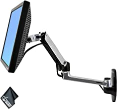 Ergotron 45-243-026 LX Wall Mount LCD Arm with Essential Accessories