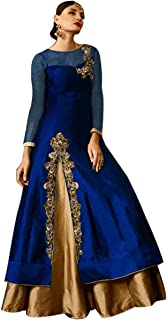 Indian Anarkali Shalwar Kameez Suit Wedding Dress Sexy Festival Collection