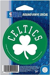 WinCraft NBA Boston Celtics WCR66664091 Round Vinyl Decal, 3