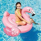 Maxi Schwimmsitz Flamingo für Pool und Badegewässer. Maße 142x 137x 97cm
