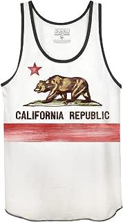 California Flag Adult Muscle Tank