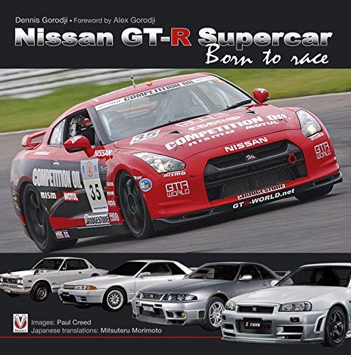 Nissan GT-R Supercar: Born to race (English Edition)