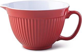 Zeal G208r Bol à mélanger/pâte Carafe, Rouge