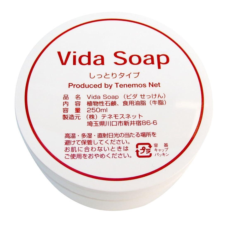 睡眠フィット逃れるテネモス ビダせっけん Vida Soap しっとりノーマル 動物性 250ml