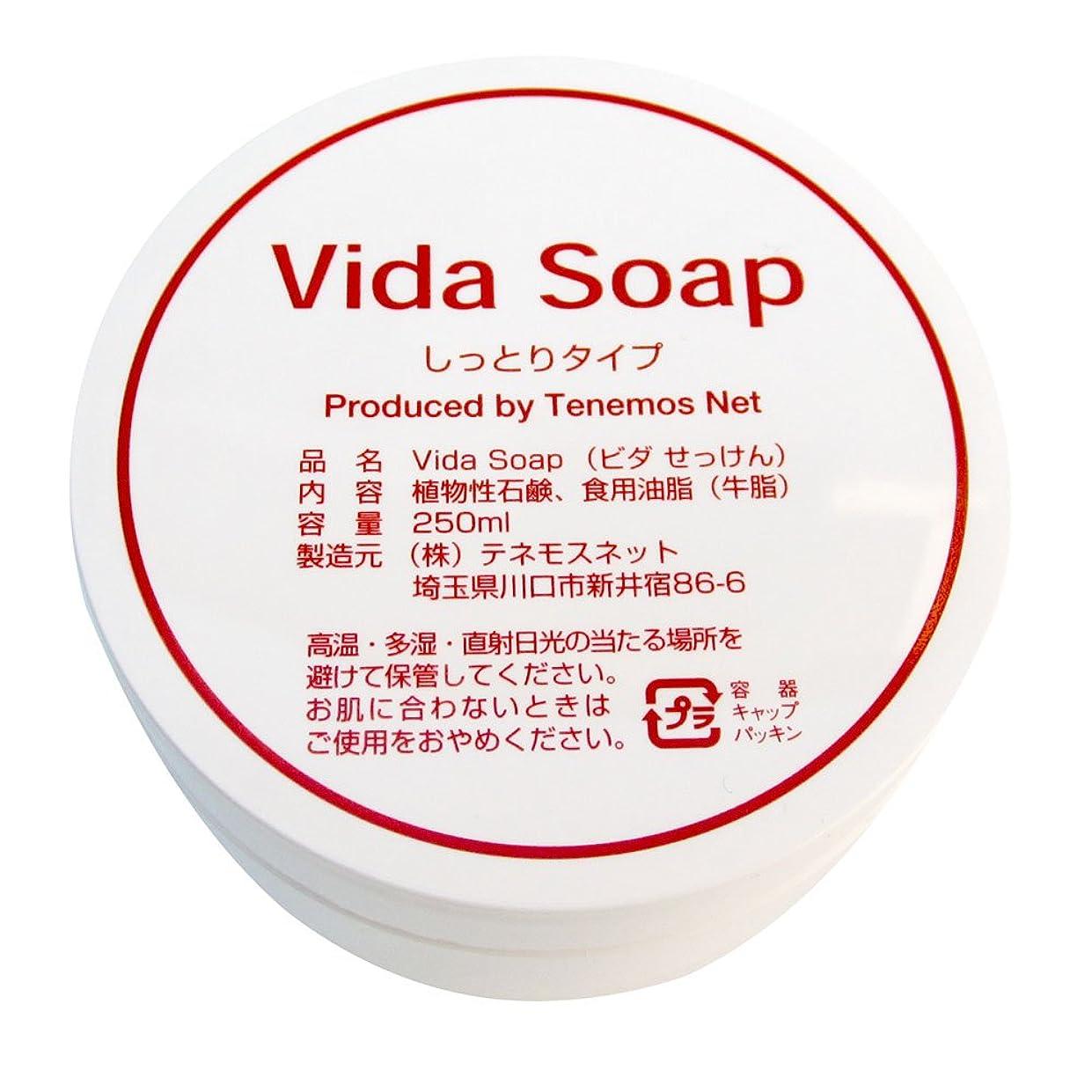 闇調子小説家テネモス ビダせっけん Vida Soap しっとりノーマル 動物性 250ml
